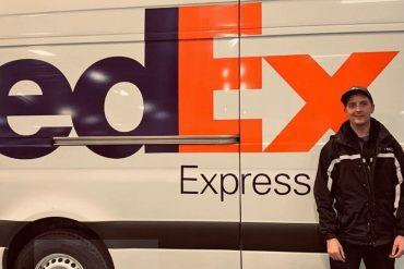 FedEx driver